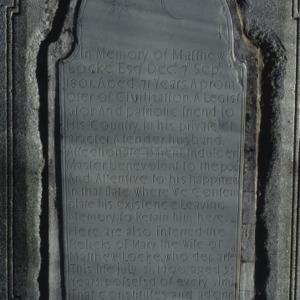 Grave of Matthew Locke, Thyatira Presbyterian Church, Rowan County, North Carolina