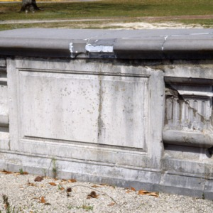 Grave of Mary Quince, St. Philip's Church, Brunswick County, North Carolina
