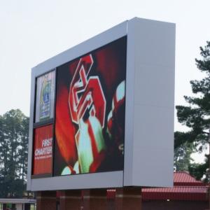 Carter-Finley Stadium, scoreboard