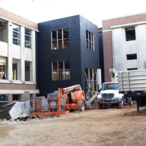 Riddick Engineering Laboratories renovation