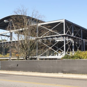 Carmichael Recreation Center construction