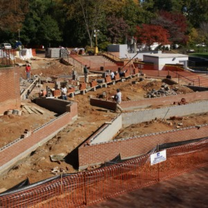Talley Lawn construction