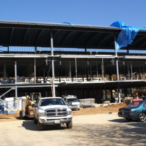 Carmichael Recreation Center construction