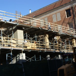 Polk Hall renovation