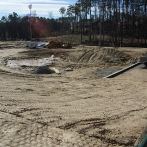 Construction of new Softball and Track complex