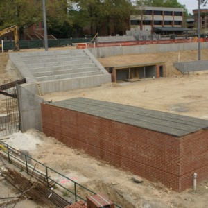 Construction of new Softball complex