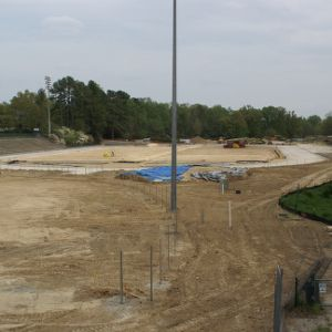 Construction of new Track and Field complex