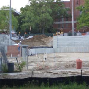 Construction of new Softball complex