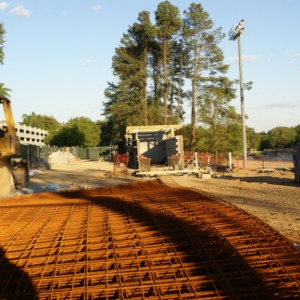 Construction of new Track and Softball complex
