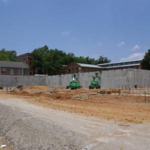 Mathematics and Statistics Building, construction