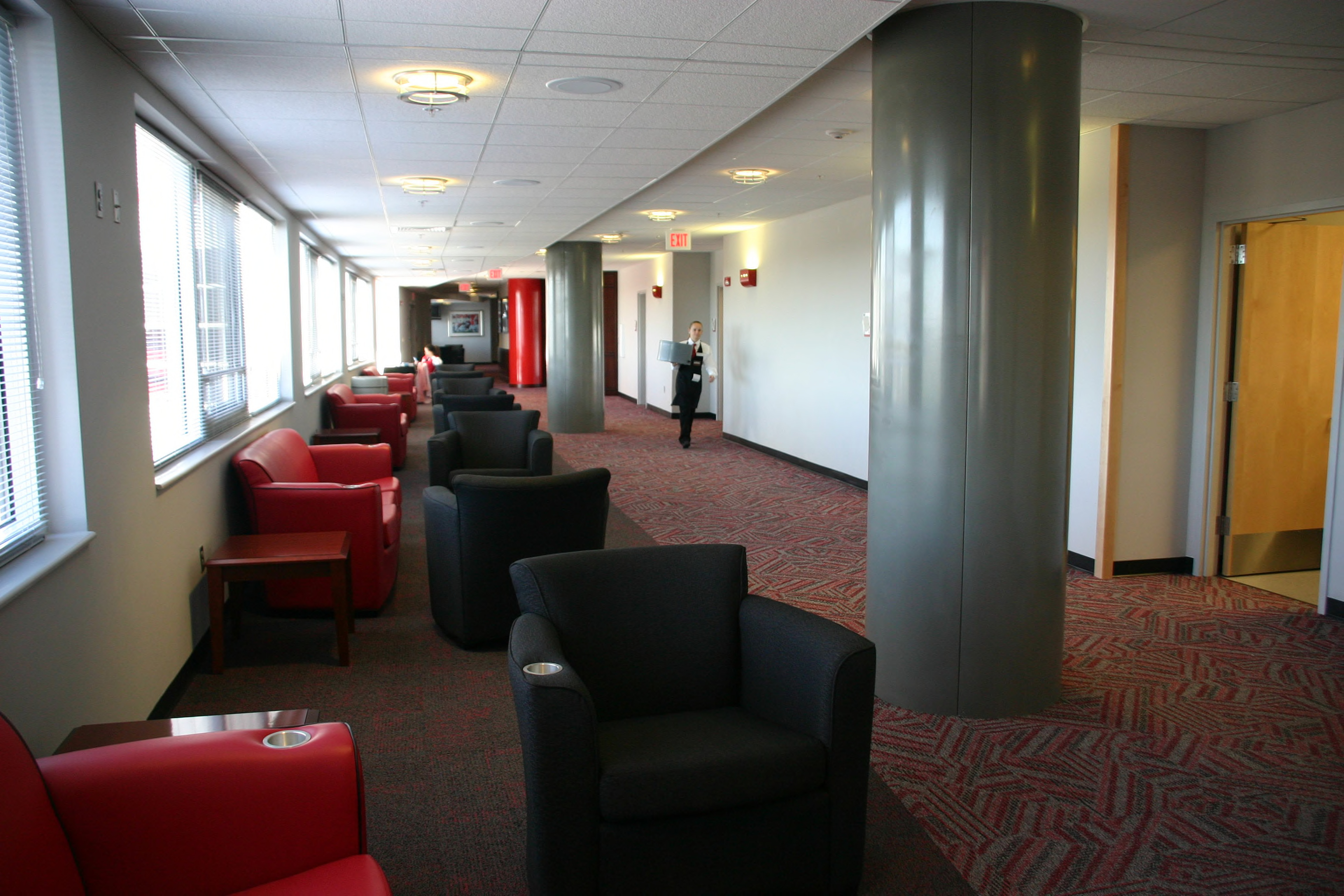 Vaughan Towers, interior