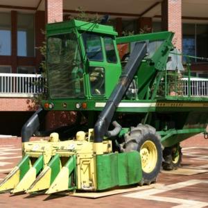 John Deere equipment  in the Brickyard
