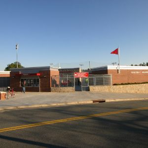 Doak Field, exterior