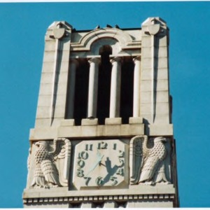 Memorial Bell Tower, top
