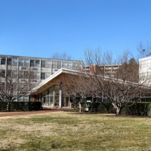 Bragaw Residence Hall, east view