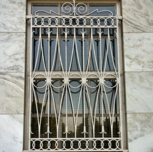 Brooks Hall, window