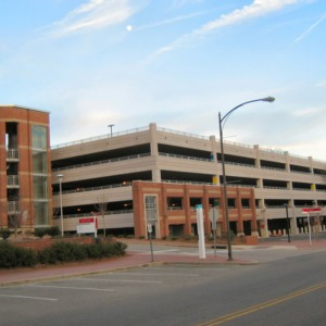 Coliseum Parking Deck