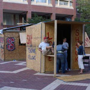Shack-A-Thon fundraiser for Habitat for Humanity, 2006: Teaching Fellows's shack