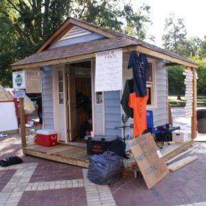 Shack-A-Thon fundraiser for Habitat for Humanity, 2007: NCSU Habitat for Humanity