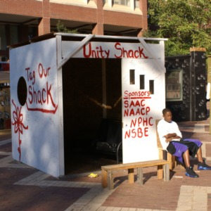 Shack-A-Thon fundraiser for Habitat for Humanity, 2007: SAAC, NAACP, NPHC, and NSBE