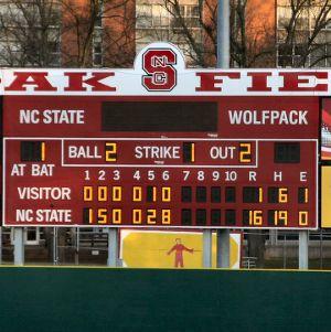 Doak Field Scoreboard