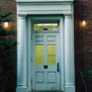 Entrance to Bureau of Mines Building