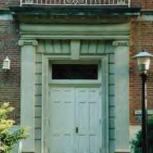 Entrance to Peele Hall