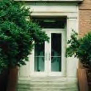 Entrance to Turlington Residence Hall