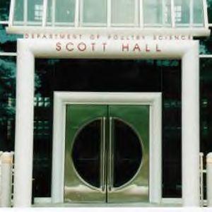 Entrance to Scott Hall