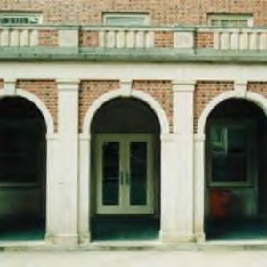 Entrance to Owen Residence Hall