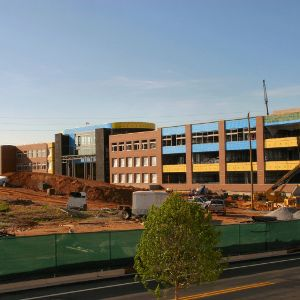Engineering Building II, construction