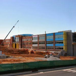 Engineering Building II, construction