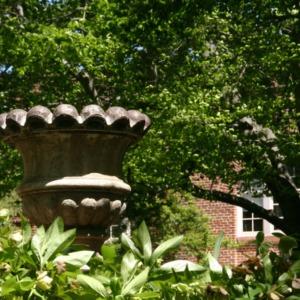 Fountain at Peele Hall