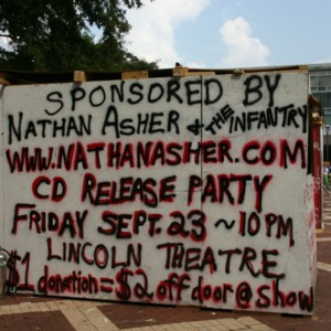Shack-A-Thon fundraiser for Habitat for Humanity, 2005: Nathan Asher and the Infantry