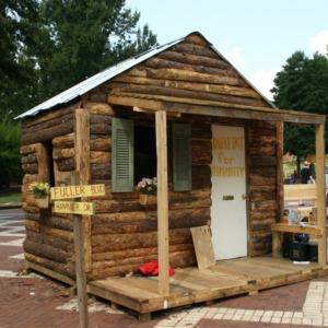 Shack-A-Thon fundraiser for Habitat for Humanity, 2005: NCSU Habitat for Humanity