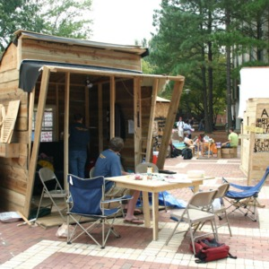 Shack-A-Thon fundraiser for Habitat for Humanity, 2005