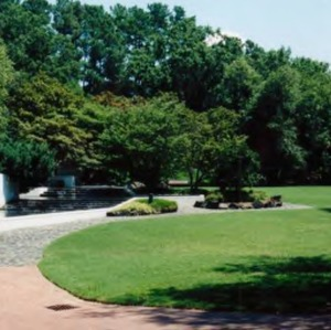 Lawn in front of Talley Student Center