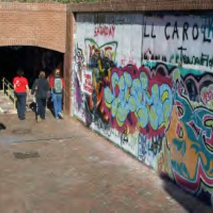 Free Expression Tunnel art