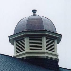 Leazar Hall cupola