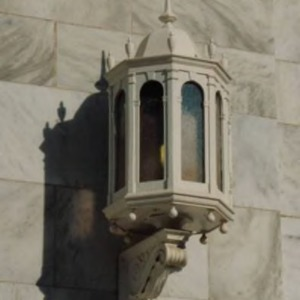 Brooks Hall, light fixture