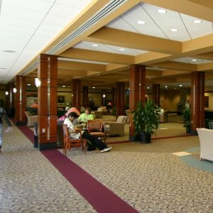 Jane S. McKimmon Center, interior