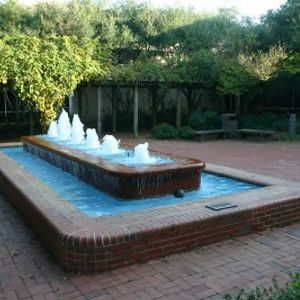 Jane S. McKimmon Center, fountain