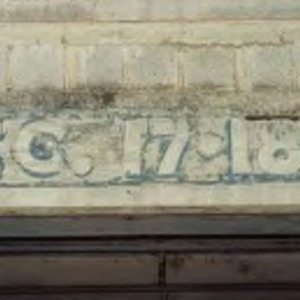 Section numbers on Old Riddick Stadium