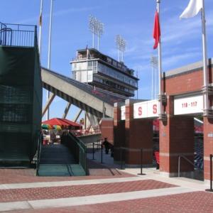 Carter-Finley Stadium, entrance sections 117-118