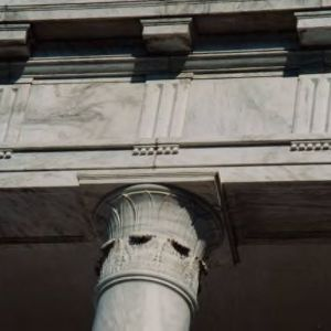 Brooks Hall, Corinthian column