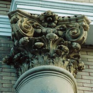 Patterson Hall Corinthian column