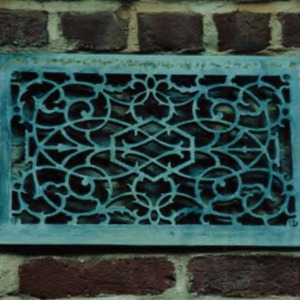 Holladay Hall decorative vent cover