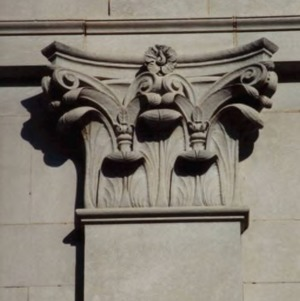Polk Hall Corinthian column