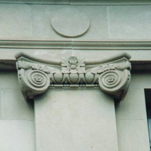 Ionic column, Unnamed Building