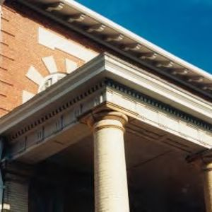 Doric column on the Nineteen Eleven Building